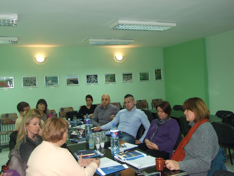 A promotional workshop about cooperation between municipalities was held in the Resource centre