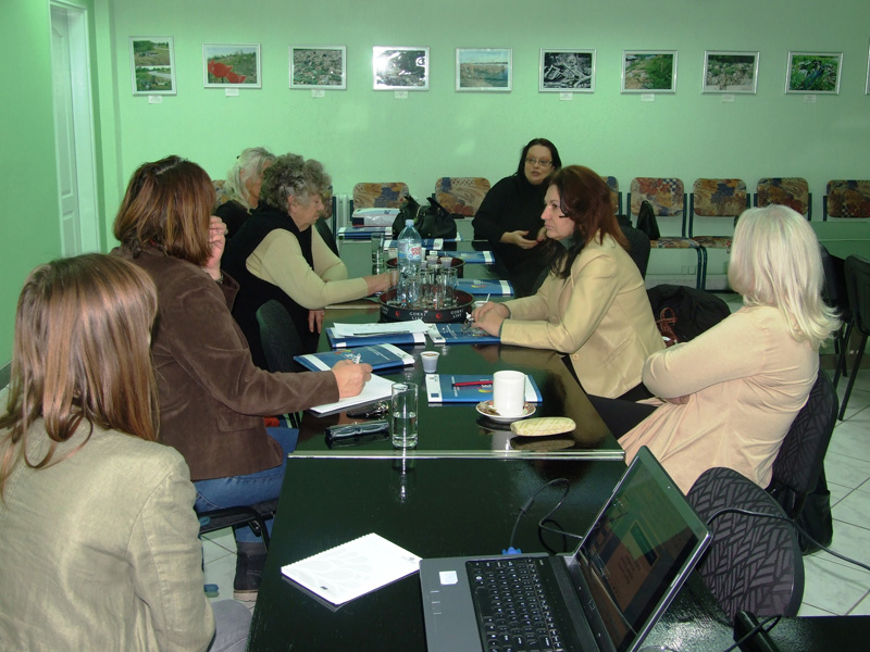 Promotional workshop held in the Resource Centre in Subotica